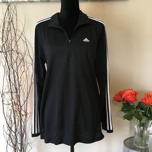 Adidas Classic Stripe Medium Half Zip